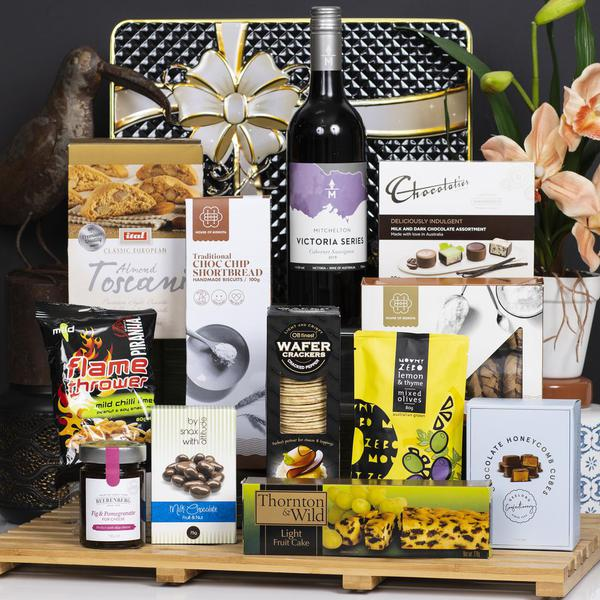 Mitchelton Cabernet Sauvignon with Sweets and Gourmet Gift Hamper