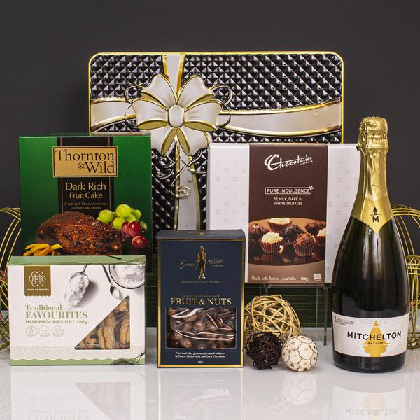 Golden Bubbly Favourites Gift Hamper