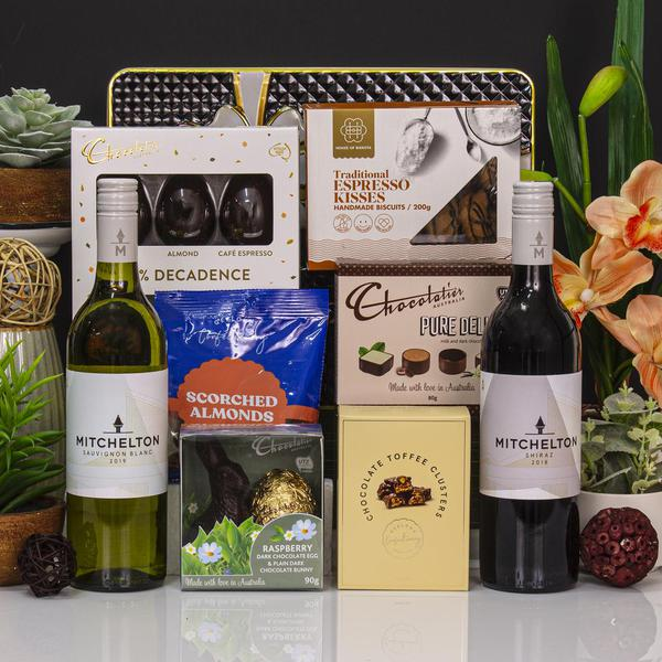 Easter Selection with Wine Gift Hamper