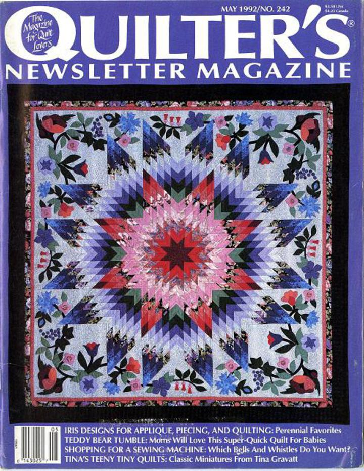 Quilter's Newsletter Magazine May 1992 No  242 Back Issue!