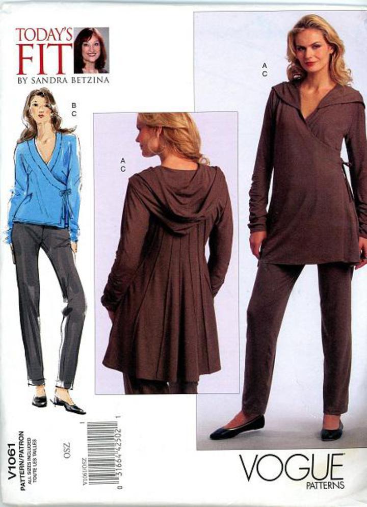 b40832358ba 2008 Vogue Pattern  V1061 by Sandra Betzina