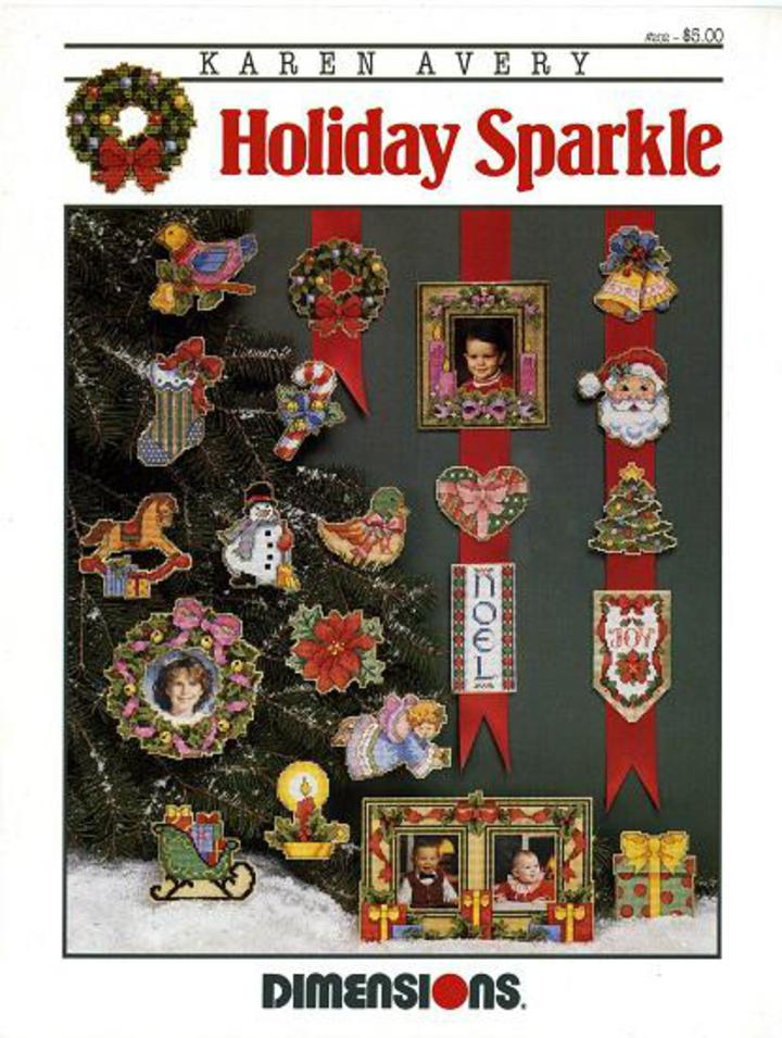 Vintage Pattern Warehouse, vintage sewing patterns, vintage fashion,  crafts, fashion - 1992 Holiday Sparkle by Dimensions #202, Counted Cross  Stitch ...