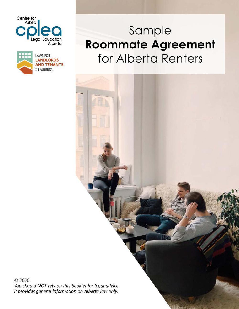 Roommate Agreement Sample Form