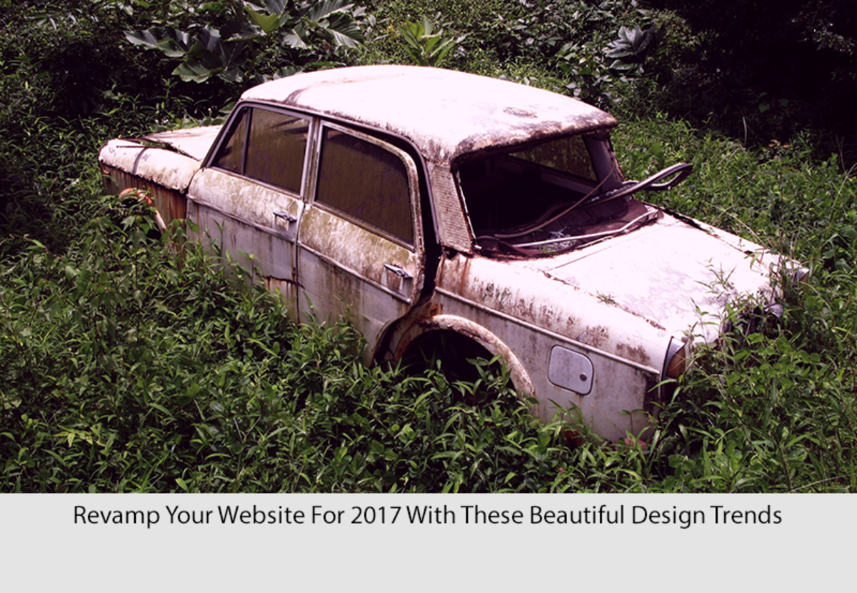 Revamp Your Website For 2017 With These Beautiful Design Trends
