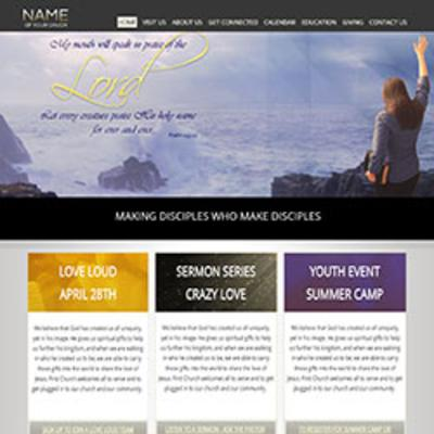 ChurchSquare - Interactive Websites Templates for Christian Churches ...