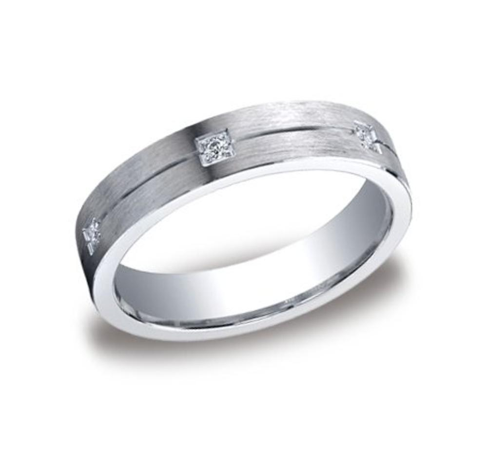 Mens Silver Wedding Band Cf65386sv
